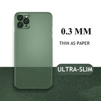 Luxury Ultra Thin Phone Cases For iPhone 11 12 Pro Max 12Mini X XR XS 6 6s 7 8 Plus Back Cover Matte PP Case