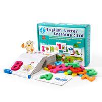 Английский алфавит письмо, изучая когнитивную игрушку с волшебными картами для рисования воды детей творческие головоломки игра образовательные игрушечные дети