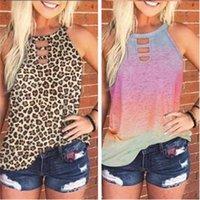 Women's T-Shirt Nightclub Top Loose Casual Summer Fashion Ladies Clothes Streetwear Shirt O Neck Sleeveless Sexy