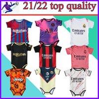 21 22 Kinderclub Icardi Soccer Jersey Hazard Pepe Rashford Lukaku Laustaro Fußball Baby Real Madrid Modric 6-18 Monate BB Fan Trikots