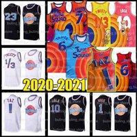 2021 James 6 Michael Jersey Bugs 23 LeBron! Taz lola daffy duck murray 1/3 tweety ncaa movie space mune tune squad basketball