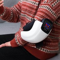 Knee Massager Infrared Electric Heated Vibration Joint Physiotherapy Massage Relief Osteoarthritis Rheumatic Arthritis CareRabin