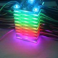 Módulos Soft Film Box Pixel LED Módulo 12V SMD 3030 6 pcs 3W IP65 (20 + 1 Driver / Set) impermeável para teto, publicidade