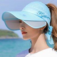 Fashion Female Summer Sun Hat for Woman Baseball Caps Beanie Casquettes Hats Patchwork Visor item