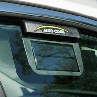 Neues Autofenster Autofenster kälter Luftlüftungskühlung mit Lüftungsgummi Solarkühler Auto Stripping Kühlerlüfter Ausschluss