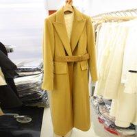 2021 winter women's wool coat new Korean loose fit