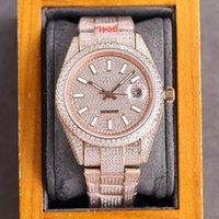 Montre De Luxe Mens Watch 40mm Automatic Mechanical Watches Diamond Bezel Sapphire Waterproof Fashion Business WristWatch U1 Gifts for Men Top