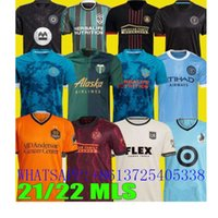 Los Montreal La Lafc Jerseys Galaxy Inter Minnesota Miami 21 22 Atlanta United York FC City Portland Football S