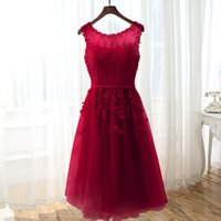 Cocktail Dresses 2021 Applique Pearls Women Short Formal Prom Party Gown