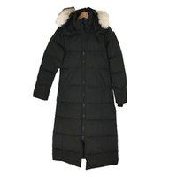 Men Winter Sportswear Down Jacket Parkas White Duck Windproof Outdoor Leisure Parker Long Leather Collar Hat Warm Real Wolf Fur Classic Adventure Couple Models XS-XL