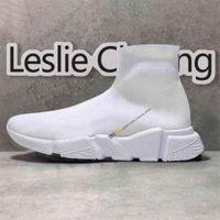 مصمم رجالي جورس عارضة الأحذية النسائية منصة سرعة الأحذية الجوارب العدائين الثلاثي الأسود الدانتيل الأبيض الركض المشي في الهواء الطلق الرجال مدرب أحذية رياضية