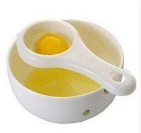 Utensili uovo di alta qualità di alta qualità plastica yoolk yoolk eco amichevole PP food grade materiale separatore separatore titolare gratuito cty3