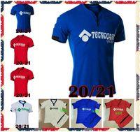 20 21 Getafe CF Футбольные трикотажные изделия Дом 2021 Angel Enric Gallego Raul Garcia Etxeita Timor SV. CamiSetas de Futbol Рубашки Наборы