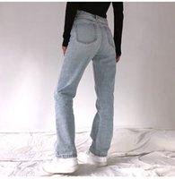 Женские джинсы с высокой талией стрейч скинни джинсовые брюки синий ретро мытье моды тонкий карандаш брюки негабаритны