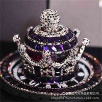 It Is Suitable for Car Mounted Diamond Crown Ornaments Perfume Seat, Vehicle Pendant, Drill Accessories, Aromatherapy