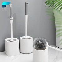 Conjunto de acessórios de banho Peisi Bathroom Pincel de parede de parede Acessórios de limpeza de parede drenagem rápida ferramenta limpa