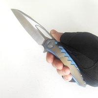 Limited Customization Version Sigil Folding Knife Titanium Frame Real Sharp M390 Blade Perfect Pocket EDC Outdoor Tactical Knives Camping Hunting Fishing Tools