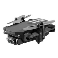 LSRC 4K WiFi FPV طوي مصغرة BECKNER DRONE KID لعبة، التقاط صورة بواسطة لفتة، رحلة المسار، مرشح الجمال، تعليق، 360 درجة فليب، 3-1