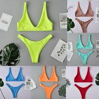 Brand Designer Swimwear Bikinis Womens 2 piece Sets Swimsuits Bandage Sexy Bathing Suits Sexy bikini Bathing Suit