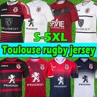 21/22 Toulouse Munster City Rugby-Trikots 2021 2022 Neues Zuhause Stade TououNain League Jersey Lentulus Shirt Freizeit Sporttraining S-5XL
