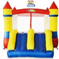 Jarda residencial preço de fábrica inflável salto saltando casa jumper bouncy castelo corrediça com soprador