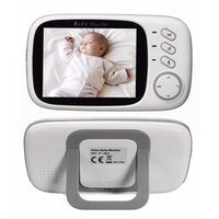 Video Baby Monitor 2.4G Wireless With 3.2 Inches LCD Audio Talk Night Vision Surveillance Security Camera Babysitter