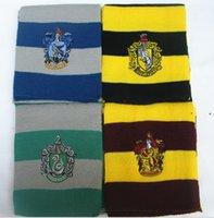 Lunga sciarpa partito figli regalo regalo harries scuola sciarpe banderlet fascino con nevrici con distintivi cosplay decorazione di halloween propto OWD9889