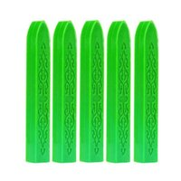 Candles Sealing Wax Seal Stick Beads Stamp For Glue Craft Tool Envelope Melt Wedding Gun Making Q0O3