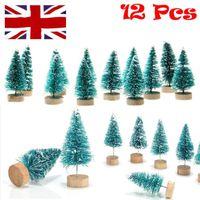 Christmas Decorations 3D Wooden Decoration Xmas Tree Pendant Embellishments Hanging Home Party Bauble Drop Ornaments