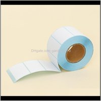 Labels & Tags Adhesive Thermal Sticker Paper Blank Label Direct Print Size 50X30Mm 800Pcs Set Qakqw Uzwao