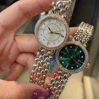 Lady Saatler Ins Stil Kuvars Hareketi Safir Ayna İzle Kol Saati 316 Paslanmaz Çelik Bant Moda Tasarım-İzle 28 mm