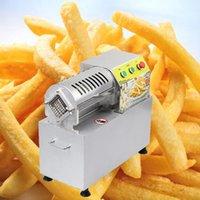 Factory Frites Frites Cutter Commercial Coupes de pommes de terre électrique Slicer Petite machine de découpe de fruits de légumes 900W
