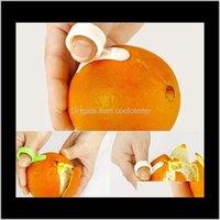 Fruit Vegetable Kitchen, Dining Bar Home & Garden Drop Delivery 2021 Kitchen Gadgets Cooking Tools Peeler Parer Finger Type Open Peel Orange