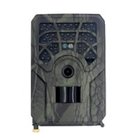Câmeras de caça WiFi App Jogo Trail Câmera, 24MP 1296P Camera Night Vision Movimento Ativado Ao Ar Livre Impermeável IP54 Monitor