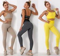 Womens Yoga wear Suit Tech fleece Sport track pants Leggings Tracksuits t shirt legging Sportswear Fitness Gym outfit Designer Clothes sportwear for gril active set
