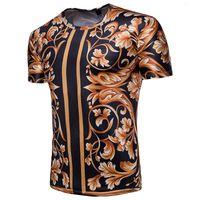 T-shirt d'été Nouveau de loisirs T-shirt à manches courtes pour hommes