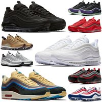 97 sean wotherspoon satan 97s мужская обувь Triple White Black MSCHF x INRI Jesus уличные мужские женские кроссовки спортивные кроссовки