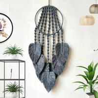 Sonho Apanhador para decoração de parede Handmade Boho Chic Kit de Dreamcatcha para Quarto Parede Pendurado Decorações Presentes HHF11359