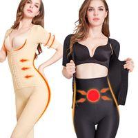 Women's Shapers Slimming Body Shaper Women Bodysuit Waist Trainer Corset Shapewear Belly Reducing Tummy Trimmer Postpartum Underwear