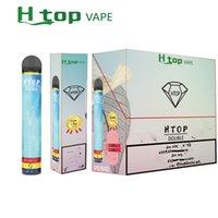 HTOP puffbar xxl 2200 Disposable Device Pod Kit Puff cigarettes 7.5ml Pre-filled Cartridges Empty Pen VS Bar Plus Flow garettes OEM ODM