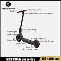 Kickcooter original Ninebot Max G30 Accessoires Kit Contrôleur Dashboard Roue arrière Fourche De Frein électrique Chargeur d'accélérateur Fender