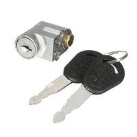 Защита от кражи блокировки двигателя замок зажигания выключатель батареи защитный пакет крышка коробка для мотоциклов электрический велосипед скутер E-Bike с 2 ключами в замках