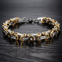 Luxury Bracelet Men Personality Casual Vintage Chain Hip Hop Couple Fashion Unisex Birthday Gift Jewelry Link 3384 Q2
