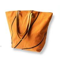Foldable Shopping Bag Printed Portable Handbags Baseball Tote Softball Basketball Football Volleyball Canvas Bags 8 Style DWA7346