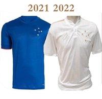 2021 Cruzeiro Esporte Clube 100th Anniversary Soccer Jerseys 2022 Home Arrascaeta Henrique Fred Dede Camicia da calcio Uniforme