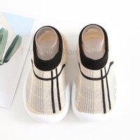 First Walkers Spring Autumn Baby Boys Comfort Socks Shoes With Soft Bottom Infant Crawl Anti-slip Booties Toddler Prewalkers Crib