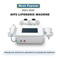 2021 Máquina HIFU Spars Face Lift Pescoço Pele que aperta alta intensidade Focado ultra-som LiSonix Equipamento de emagrecimento