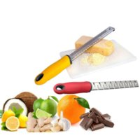 Multifunctional Rectangle Stainless Steel Cheese Shaver Tool Grater Chocolate Lemon Zester Peeler Kitchen Gadgets Vegetable with Retail Box