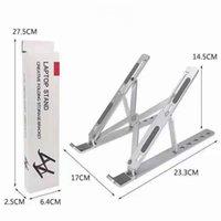 Suporte criativo da liga de alumínio do suporte de alumínio 10-15,6 polegadas Montagens do portátil 6-posição suporte portátil de altura ajustável