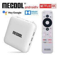 MECOOL KM2 4K Android TV Box Amlogic S905X2 2GB DDR4 USB3.0 SPDIF Ethernet WiFi HDR 10 Widevine L1 ATV TVBox